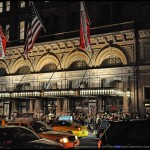 Carnegie Hall at night