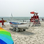 Cape May NJ Beach Scene