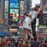Times Square Kiss anniversary.