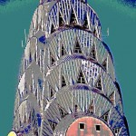 chrysler building abstractcanvas.transfer, chelseaweb